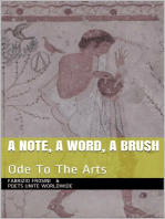 A Note, A Word, A Brush