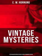 VINTAGE MYSTERIES – 6 Intriguing Brainteasers in One Premium Edition