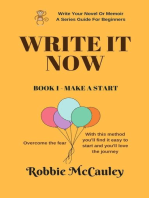 Write It Now. Book 1 - Make a Start