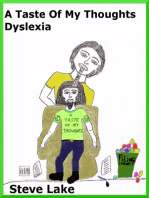 A Taste Of My Thoughts Dyslexia