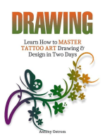 Drawing: Learn How to Master Tattoo Art Drawing & Design in Two Days