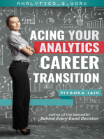 Acing Your Analytics Career Transition