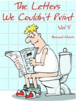 The Letters We Couldn't Print Vol 5