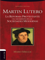 Martín Lutero: La Reforma protestante y el nacimiento de la sociedad moderna