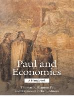 Paul and Economics