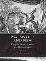 Psalms Old and New: Exegesis, Intertextuality, and Hermeneutics