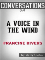 A Voice in the Wind: by Francine Rivers   Conversation Starters