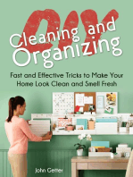Diy Cleaning and Organizing
