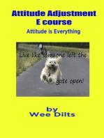 Attitude Adjustment E course