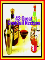 43 Great Cocktail Recipes
