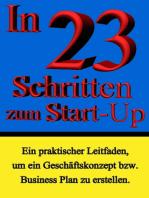In 23 Schritten zum Start-Up
