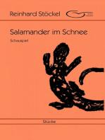 Salamander im Schnee
