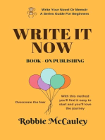 Write it Now. Book 9 - On Publishing