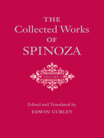 The Collected Works of Spinoza, Volume I