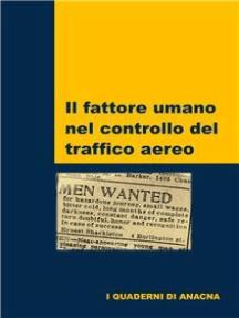 Il fattore umano nel controllo del traffico aereo
