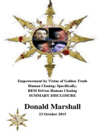 Empowerment by Virtue of Golden Truth, Human Cloning