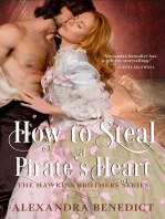 How to Steal a Pirate's Heart (The Hawkins Brothers Series)