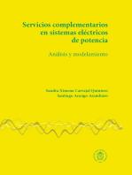 Servicios complementarios en sistemas eléctricos de potencia: Análisis y modelamiento