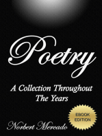 Poetry A Collection Throughout The Years