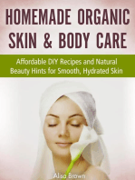 Homemade Organic Skin & Body Care