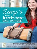 Lucy's 3-in-1 kraft-tex Bag Pattern