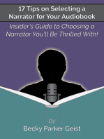 17 Tips on Selecting a Narrator for Your Audiobook