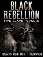 Black Rebellion - Five slave revolts