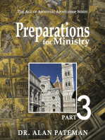 Preparations for Ministry