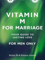Vitamin M for Marriage