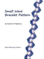 Small Wave Bracelet Pattern