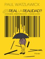 ¿Es real la realidad?