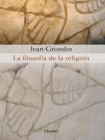 La filosofía de la religión