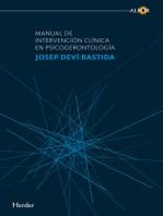 Manual de intervención clínica en psicogerontología