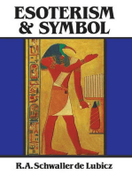 Esoterism and Symbol