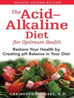 The Acid–Alkaline Diet for Optimum Health