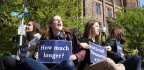 At Yale, Protests Mark A Fight To Recognize Union For Grad Students