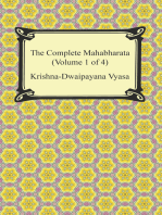 The Complete Mahabharata (Volume 1 of 4, Books 1 to 3)