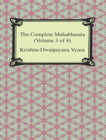 The Complete Mahabharata (Volume 3 of 4, Books 8 to 12)
