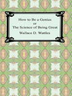 How to be a Genius or The Science of Being Great