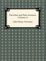 Parochial and Plain Sermons (Volume I)