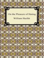 On the Pleasure of Hating