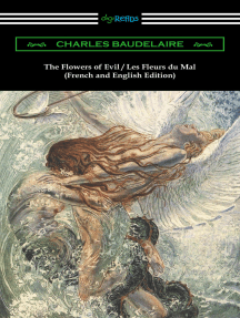 The Flowers of Evil / Les Fleurs du Mal: French and English Edition (Translated by William Aggeler with an Introduction by Frank Pearce Sturm)