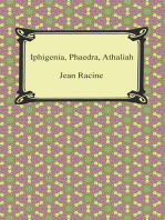 Iphigenia, Phaedra, Athaliah