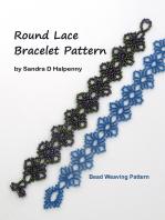 Round Lace Bracelet Pattern