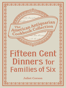 Fifteen Cent Dinners for Families of Six