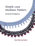 Simple Lace Necklace Pattern
