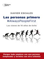 Las personas primero