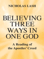 Believing Three Ways in One God