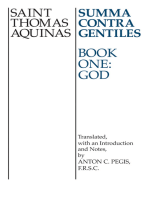 Summa Contra Gentiles: Book One: God