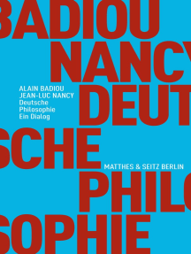 Deutsche Philosophie. Ein Dialog